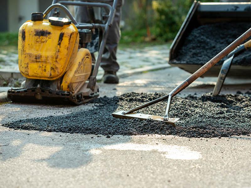asphalt and chipseal
